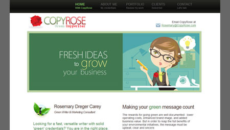 <i>Green Copywriter in Bergen County: <a href='portfolio.html#cr'>CopyRose</a></i>