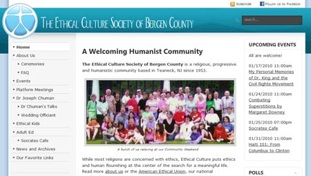 Religious Community Website