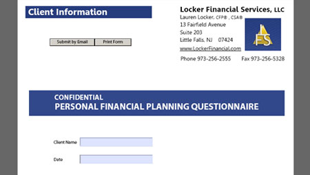 Financial Planning Firm Site
