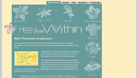Acupressure Provider Website